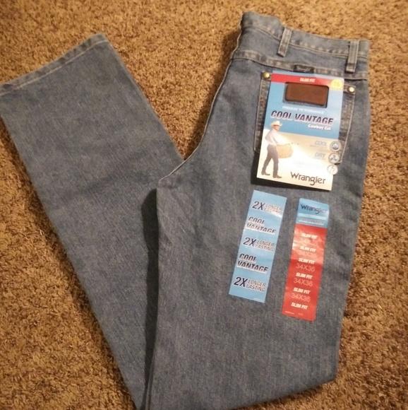 f7a02837 Wrangler Jeans | Cool Vantage Cowboy Cut Slim Fit | Poshmark